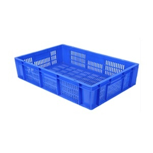 Esquire food & industrial plastic crate 600 x 400 x 125 TP