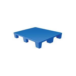 Esquire 9 leg 4 way and 3 leg 2 way roto-moulded plastic pallet 1200 x 1000 x 160