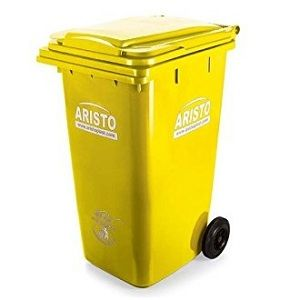 Aristo 240 liter wheel waste bin