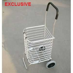 Aluminium folding shopping trolley - The Meta Store Secunderabad