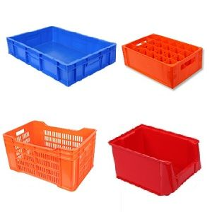 Vegetable plastic crates and industrial storage crates - The Meta Store
