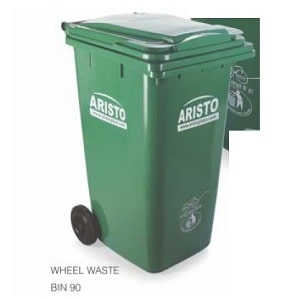 aristo-2-wheeled-waste-bin-90-litre