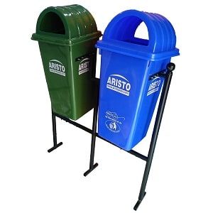 aristo-double-dustbins-with-stand