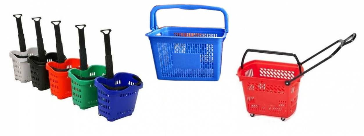 plastic-shopping-basket-wheel-basket-trolleys